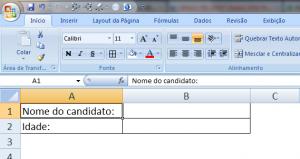 Utilizando a Validação de Dados no MS Excel - Figura 1