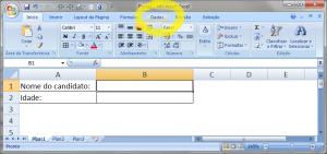 Utilizando a Validação de Dados no MS Excel - Figura 2